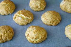 Bake until the biscuits are golden brown.