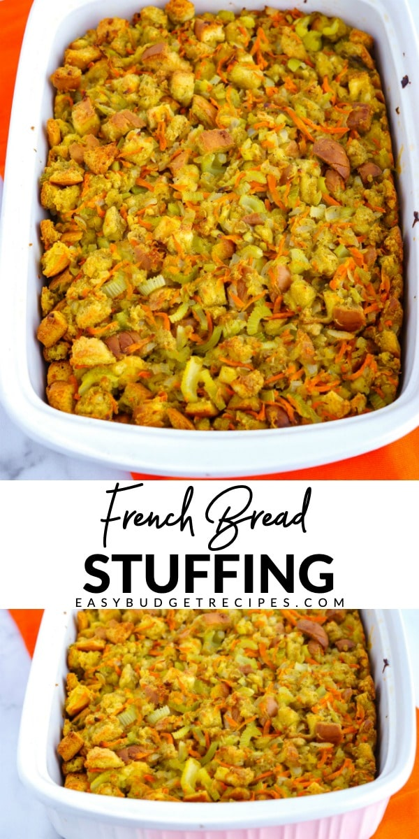 Picture collage of stuffing for Pinterest.