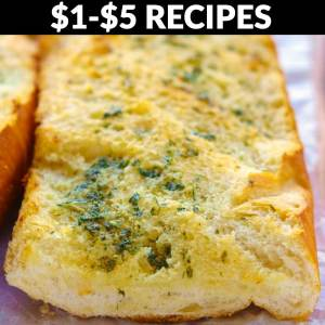 Recipes that cost between $1-$5 to make!