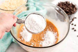 Stir in powdered sugar.