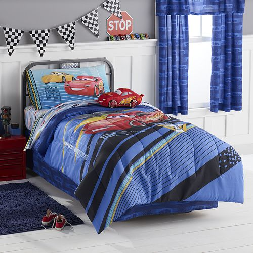 This is all part of the Disney Crs 3 bedding collection. Buy one piece or buy them all!