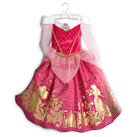 Aurora Costume for Kids Sleeping Beauty. It comes in many different sizes.