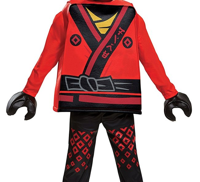 he LEGO Ninjago Movie has many characters that your child will want to dress up as for Halloween 2017. Kai is one of them.