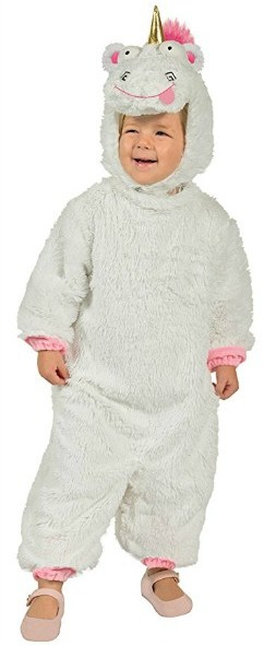 Despicable Me 3 Fluffy Unicorn costume for kids will be popular this Halloween