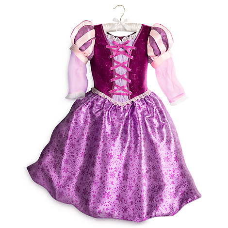 This Tangled the Series Halloween costume for girls comes i sizes toddler to big girl.