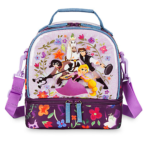 Tangled the Series Lunch box for kids. It is soft sided and has room for everything your child loves to eat for lunch.