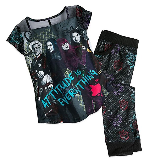 Disney Descendants 2 Pajamas for Girls comes in many sizes