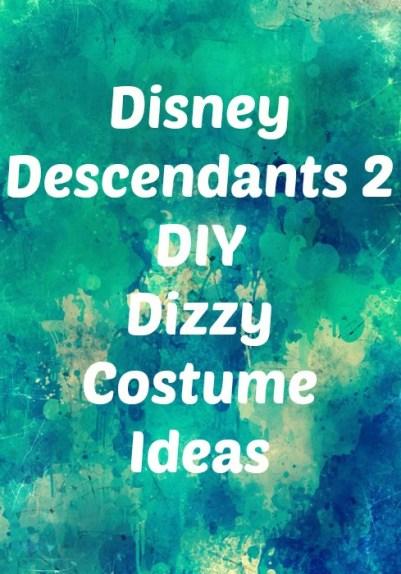 Disney Descendants 2 DIY Dizzy costume ideas