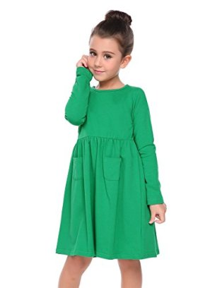 This green dress can be the base for your Disney Descendants DIY Dizzy Tremaine costume