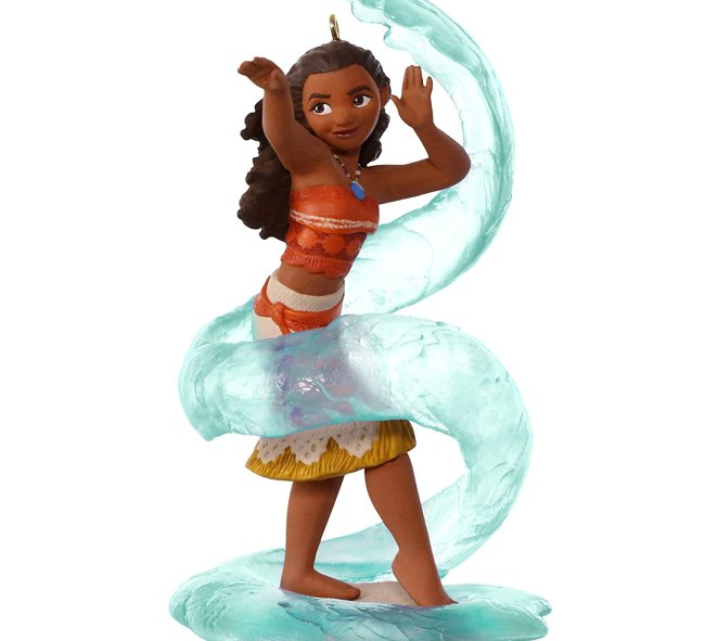 Here is a fun Disney Moana Christmas ornament for your collection.