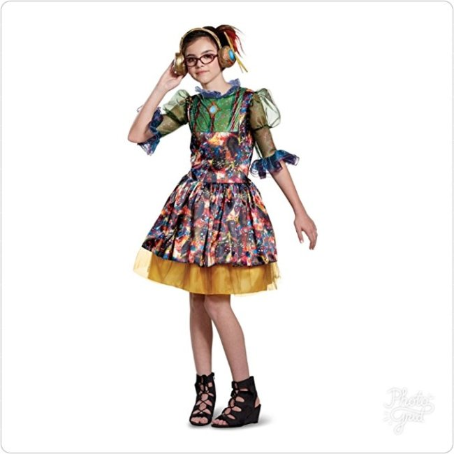 This Dizzy costume from the Descendants 2 line comes in three different sizes.