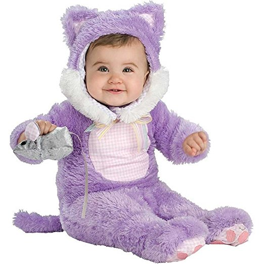 This cat costume infants and toddlers would be perfect for a Puppy Dog Pals Hissy Costume