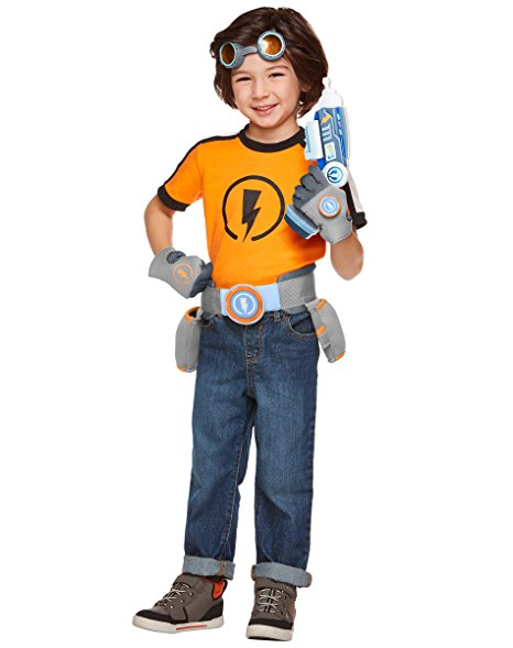 This Rusty Rivets costume will be popular this Halloween season  sc 1 st  Easy Cake Walk & Nick Junior Rusty Rivets Halloween Costume for Kids u2013 Easy Cake Walk