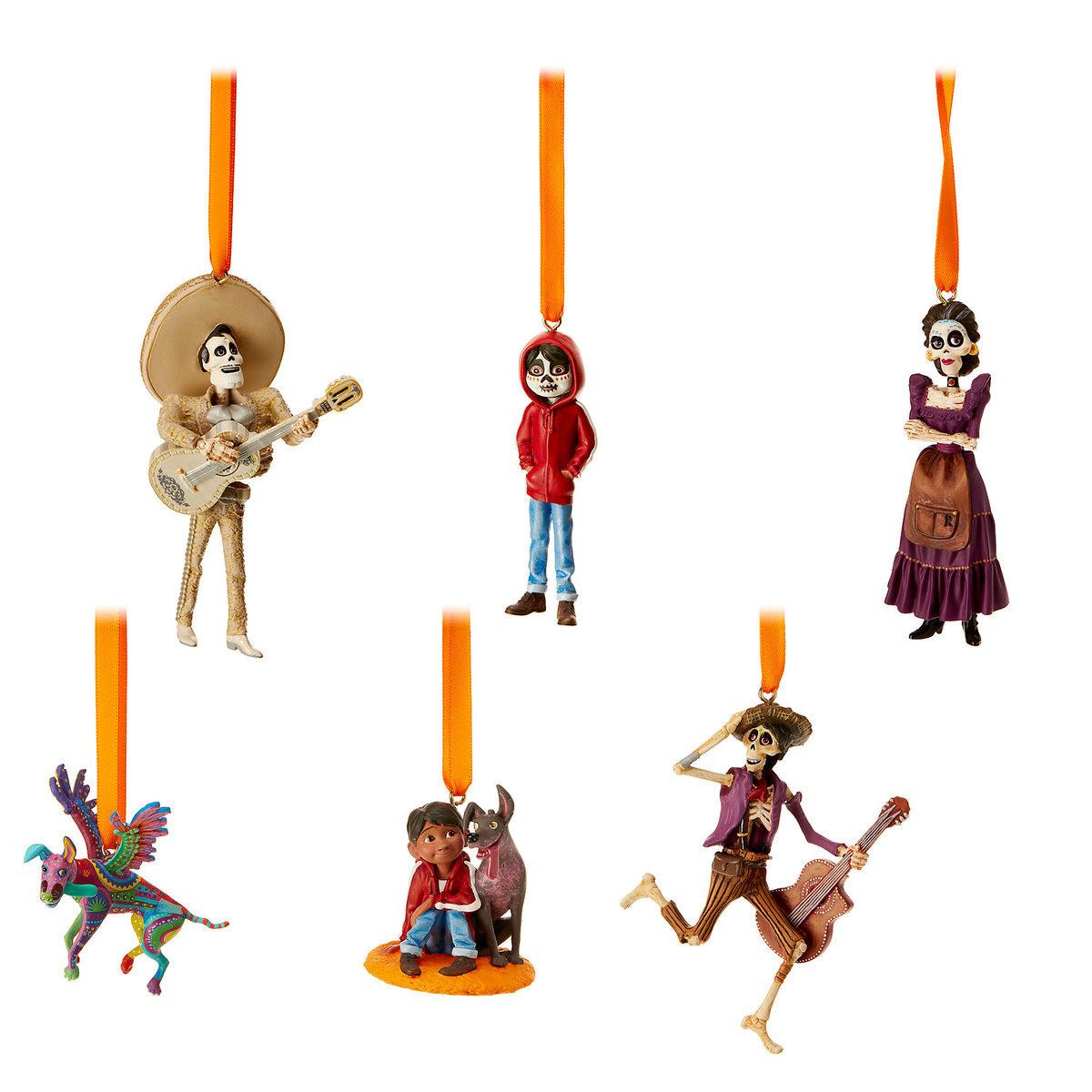 Disney Pixar Coco Sketchbook Ornament Set Easy Cake Walk