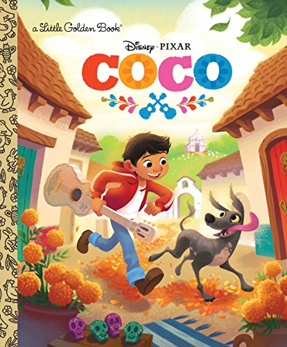 Disney Coco party favors-a book is perfect for both boys and girls!