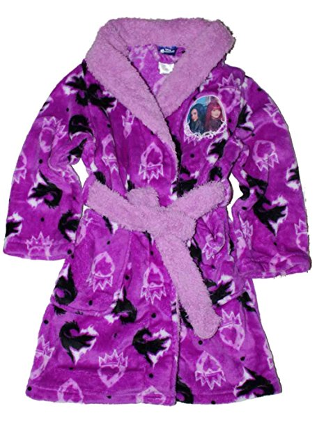 Disney Descendants 2 Mal and Evie robe for girls