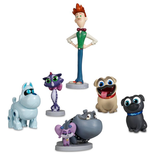 Puppy Dog Pals Cake Topper