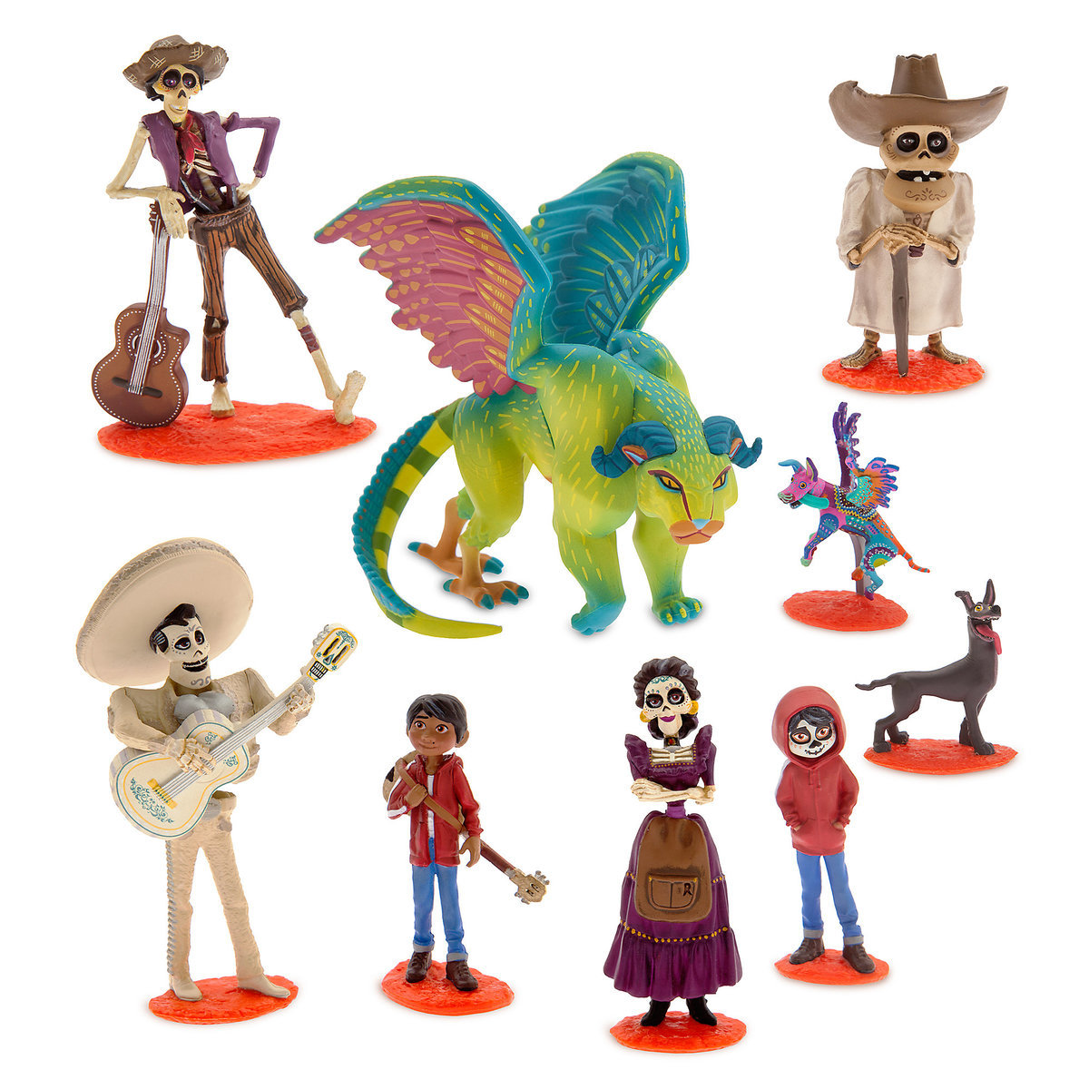 Disney Coco Deluxe Cake Topper Figurine Set Easy Cake Walk