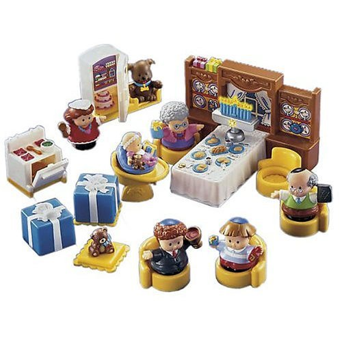 This FIsher Price Little People Hanukkah Set delights the youngsters who celebrate the Festival of Lights.