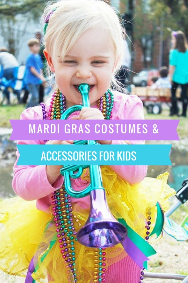 Here are some fun Mardi Gras Costumes for kid