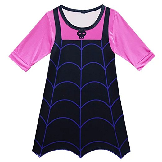This Vampirina dress for girls is something preschoolers would love to wear.