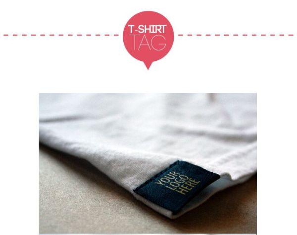 TAG T-shirt Logo mockup t shirt template mockup free