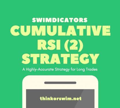 Cumulative RSI 2 trading Strategy for thinkorswim
