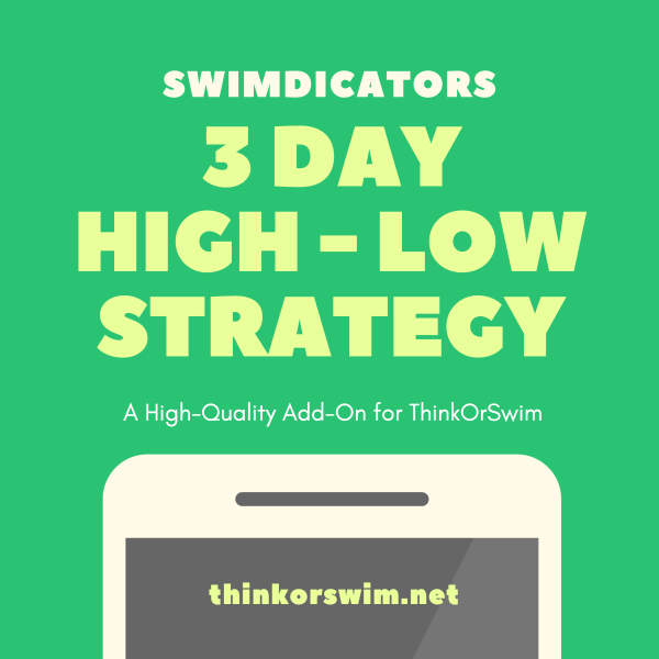 3 Day High Low Trading Strategy for ThinkOrSwim - cover