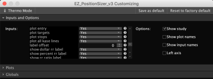 Thinkorswim Position Sizer - Settings 4