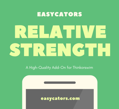 Thinkorswim Relative Strength Divergences Scan Indicator Column Study