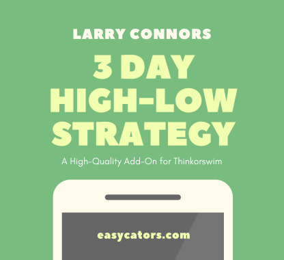 thinkorswim larry connors 3 day high low trading strategy
