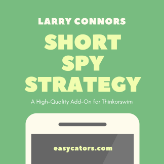thinkorswim larry connors short spy trading strategy