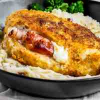 Prosciutto and Cheese Stuffed Chicken Breast Recipe