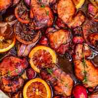 Honey Balsamic Glazed Chicken Recipe (Roasted Balsamic Chicken Thighs)