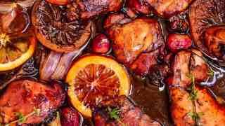 Honey Balsamic Glazed Chicken Recipe (Roasted Balsamic Chicken Thighs)