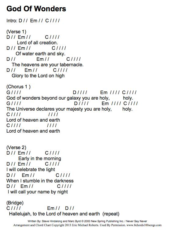 godofwonders-chords