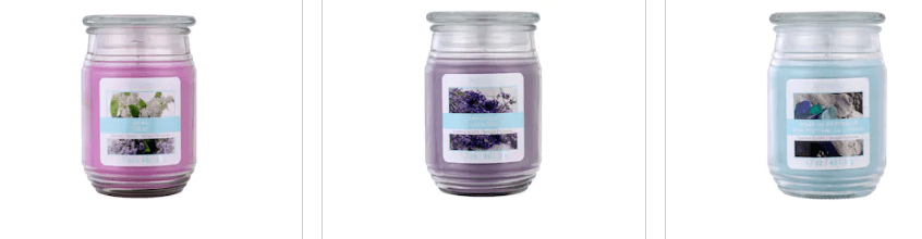 Michael's: Jar Candles – $1.60