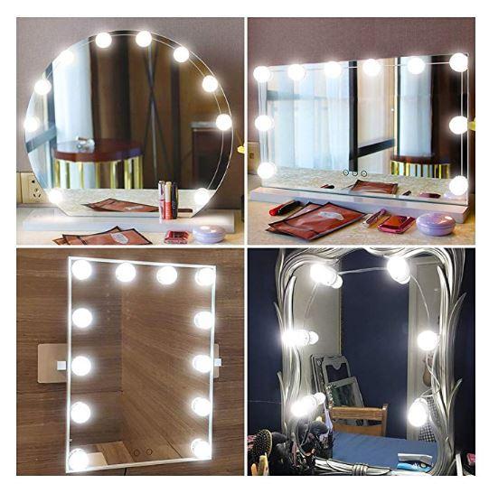 Amazon: $8.64 – LED Vanity Mirror Lights Kit