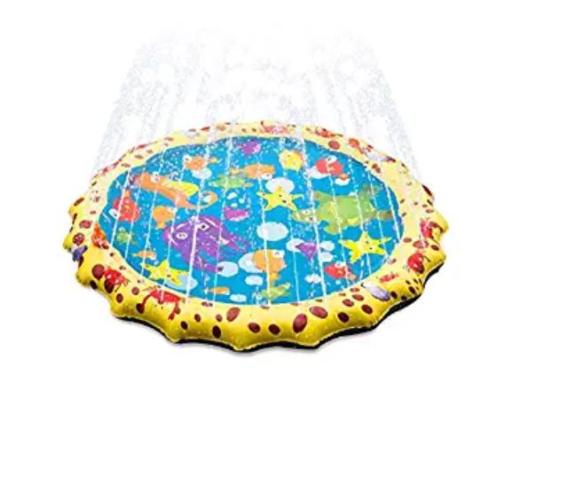 Amazon: Fannel Splash Water Play Mat – $5.99