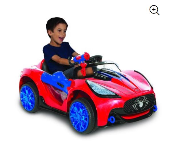 Walmart: Spiderman-marvel 6 Volt Spider-man Super Car for Kids – $69