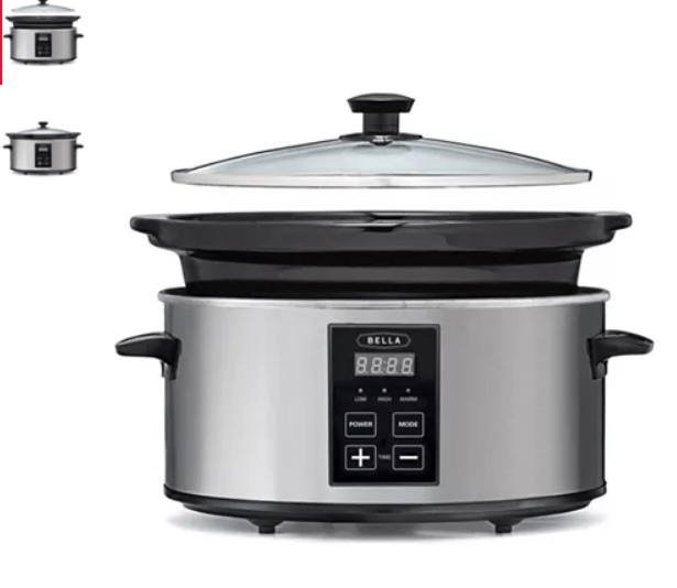 Macy's: Bella 5-Qt. Programmable Slow Cooker – $7.99 after mail in rebate