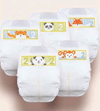 Free Cuties Diapers