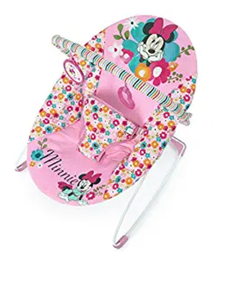 Amazon: Disney Baby Minnie Mouse Perfect Vibrating Bouncer, Pink – $15.54
