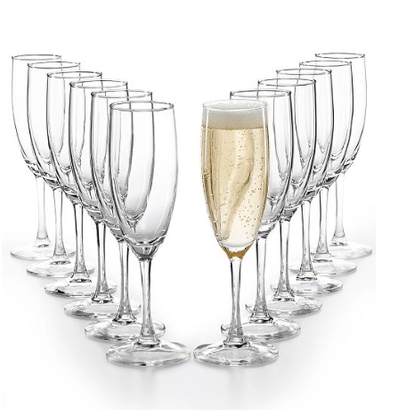 Macy's: Martha Stewart Essentials 12-Pc. Flutes Set – $9.99