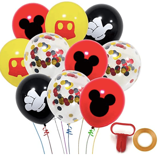 Amazon: Mickey Party Decor – $10.99-$11.99