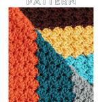 How To Crochet A Blanket Stitch Pattern Easy Crochet