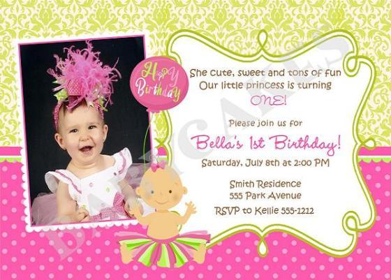 Brilliant Sample Wording First Birthday Invitation Wedding Invitation Sample Funny Birthday Cards Online Inifofree Goldxyz