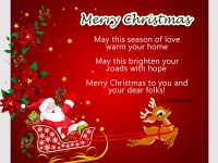 to perceive christmas - Nice Christmas Messages