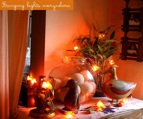 How To Decorate Small House In Diwali