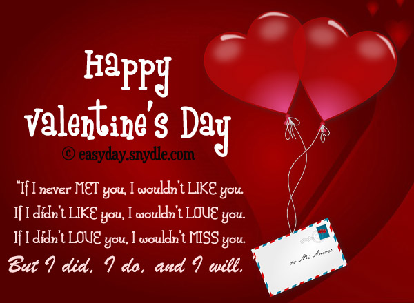 Collection of Best Valentines Day Quotes and Sayings - Easyday